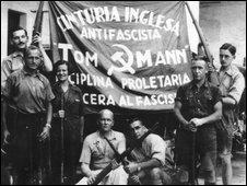 Some of the International Brigade