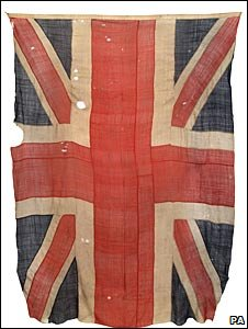 Union Jack from the Battle of Trafalgar