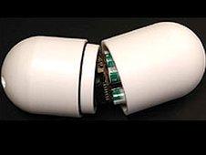 'Electronic pebble' probe (Image: Glacsweb)