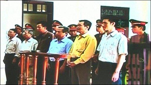 Democracy activists go on trial in Vietnam