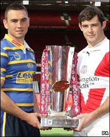 Kevin Sinfield and Paul Wellens