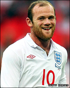 England and Manchester United forward Wayne Rooney