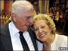 Les Atwell and Sheila Walsh
