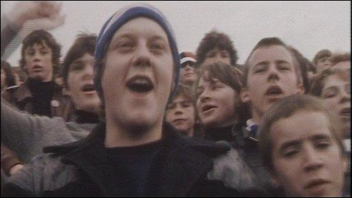 Millwall fans 1977