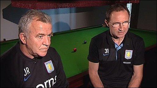 John Robertson and Martin O'Neill