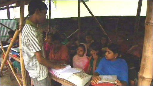 Babar Ali teaching