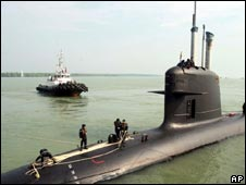 The Scorpene submarine