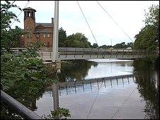 River Derwent in Derby