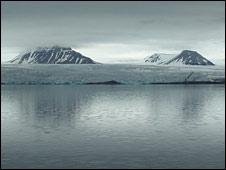 Glacier on Svalbard