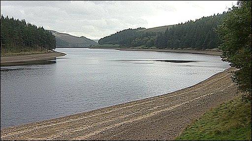 River Derwent at Derwent Reservoir