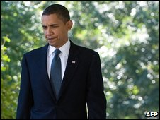 Barack Obama at the White House, 9 October 2009