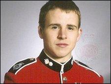 Guardsman Jamie Janes