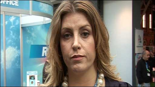 Penny Mordaunt is the Conservative parliamentary candidate for Portsmouth North