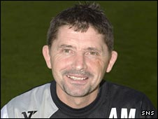 Stirling Albion manager Allan Moore