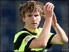 Celtic winger Paddy McCourt