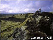 Lakagigar, Vatnajokull, Iceland