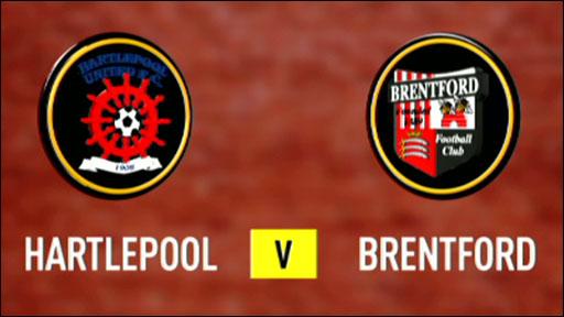 Hartlepool 0-0 Brentford