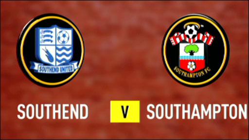Southend 1-3 Southampton