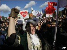 St Petersburg demonstration - photo 10 October