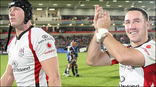 Stephen Ferris and Paddy Wallace