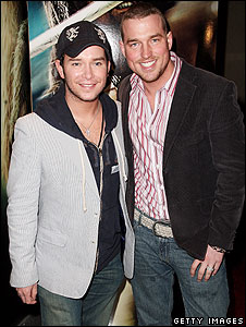Stephen Gately and Andy Cowles