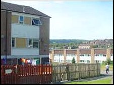 Council housing Plas Madoc