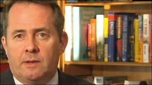 Liam Fox MP, Shadow Defence Secretary
