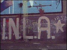 INLA grafitti