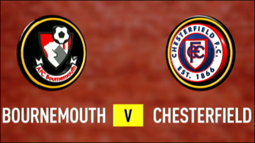 Bournemouth 1-2 Chesterfield