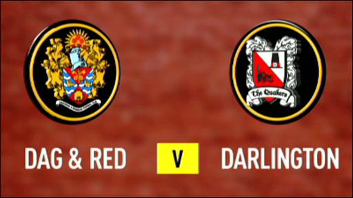 Dagenham & Redbridge 2-0 Darlington