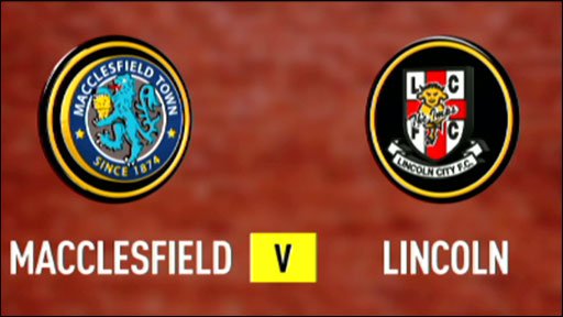 Macclesfield 0-1 Lincoln