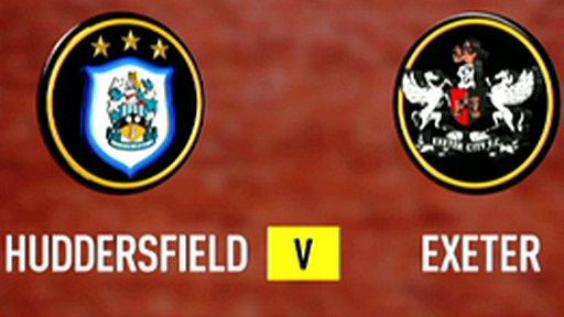 Huddersfield 4-0 Exeter