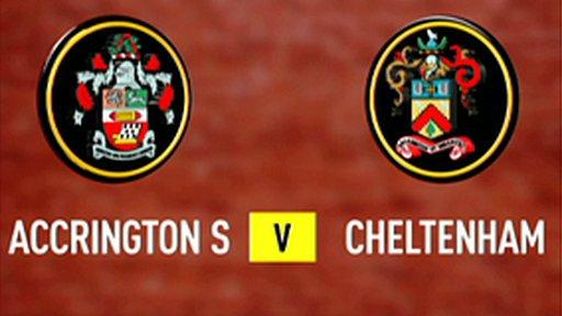 Accrington Stanley 4-0 Cheltenham