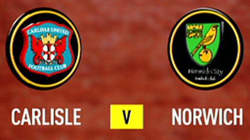Carlisle 0-1 Norwich