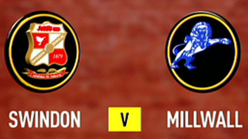 Swindon 1-1 Millwall