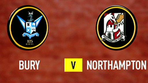 Bury 2-2 Northampton