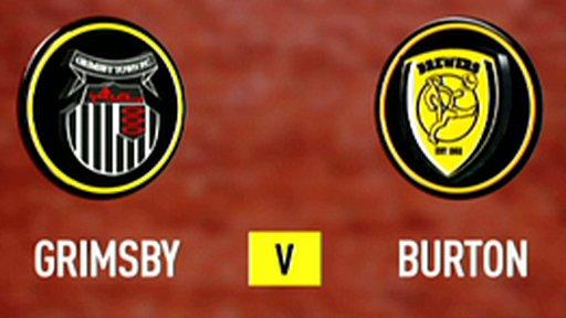 Grimsby 1-2 Burton Albion