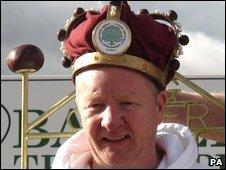 World Conker Champion Thomas Gormley