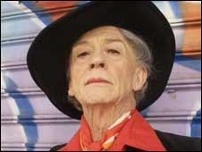 John Hurt as Quentin Crisp in An Englishman in New York