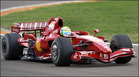 Felipe Massa gets behind the wheel of an F1 car for the first time since his accident