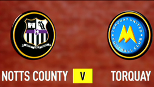 Notts County 2-2 Torquay