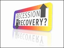Recession to Recovery graphic