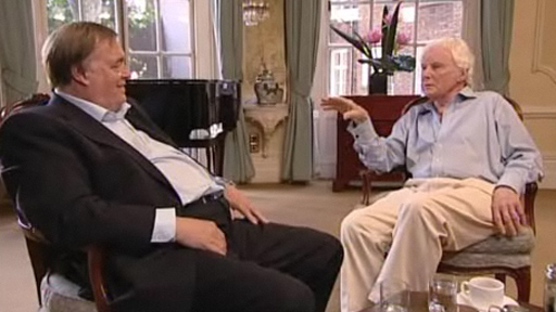 John Prescott and Brian Sewell