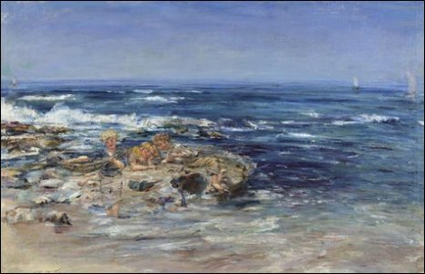The Atlantic Surf by Sir William McTaggart