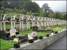 Cemetery at Aberfan