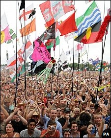 Glastonbury fans