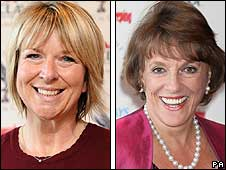 Fern Britton and Esther Rantzen