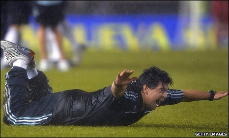 Argentina coach Diego Maradona