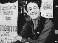 Harvey Milk, pictured in November 1977