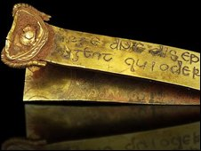 Gold Anglo-Saxon artefact found in Staffordshire